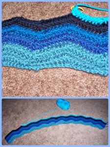 Blanket End Of March Collage