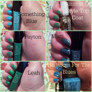 Nail Polish Project- March 2015 Collage