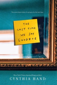 The Last Time We Say Goodbye Cover