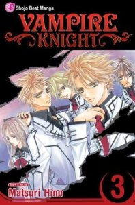 Vampire Knight Vol 3 Cover