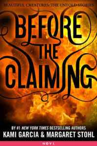Before The Claiming Cover