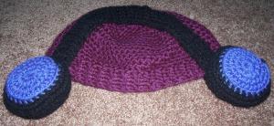 Crochet- October 2015 Headphone Hat