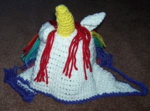 Crochet- October 2015 Unicorn Hat