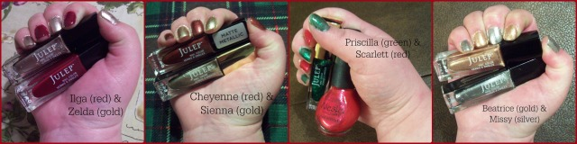 Nail Polish Project- December 2015 Collage