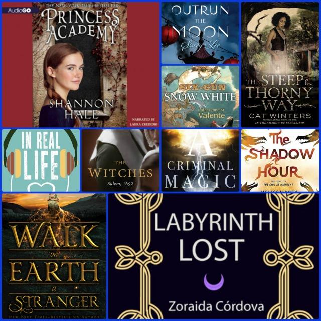 Top Ten Tuesday 10 Recent TBR Books