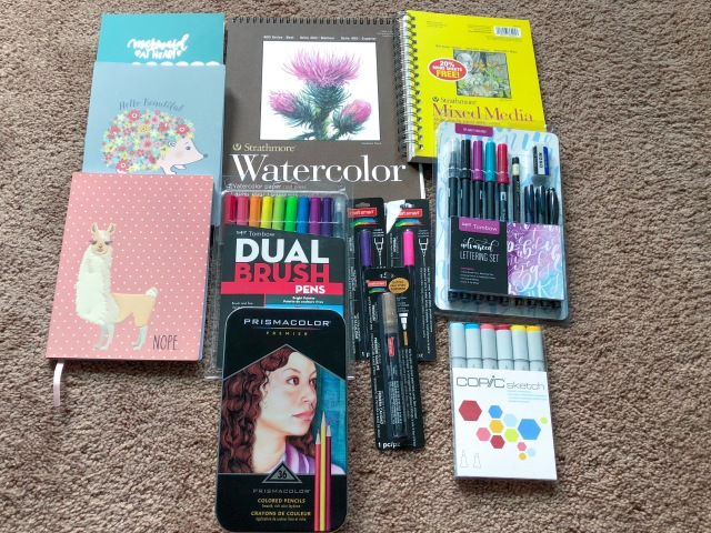 Some Art Supplies